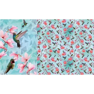 Vogelschar Panel