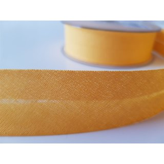 Baumwoll Schrägband gelb