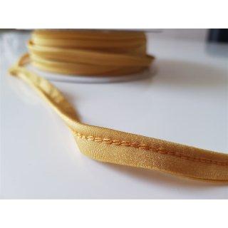 Paspelband elastisch gelb