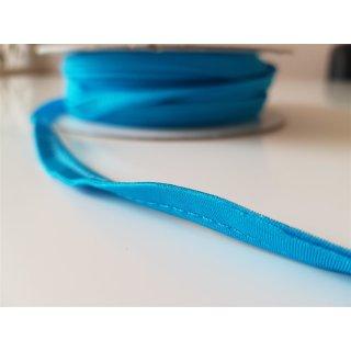 Paspelband elastisch Aqua