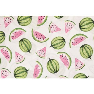 Melon Popeline