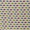 Happy Monsters by Birgit Boley , Fledermaus Jersey beige
