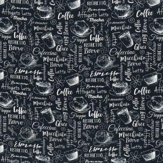 Kim, Kaffee Baumwolle Webware