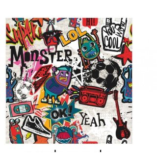 Monster Panic Time Jersey