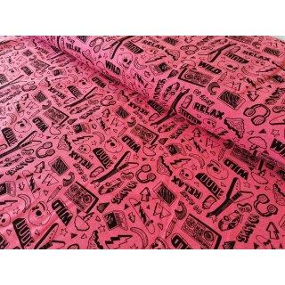 Neon Rock & Roll Jersey Pink