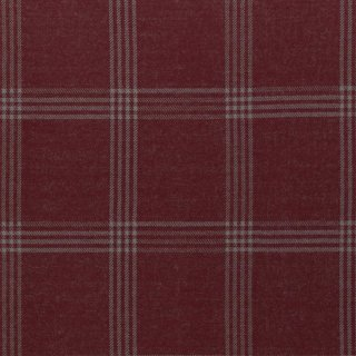 Cozy Collection by lycklig design, Kariert Bordeaux, Jacquard- Jersey