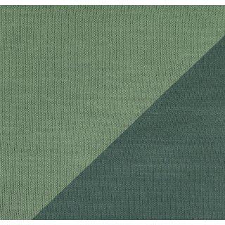 Ida Interlockjersey doubleface grün Tannengrün