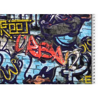 Graffiti Back Side Druck