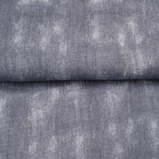 Musselin Used Look Batik Grau