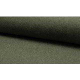 Jersey Bündchen Melange Khaki