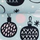 Noel Weihnachtskugel Baumwolle Webware