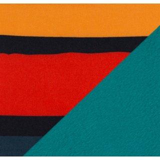 Finn Nano Softshell Streifen bunt/ schwarz