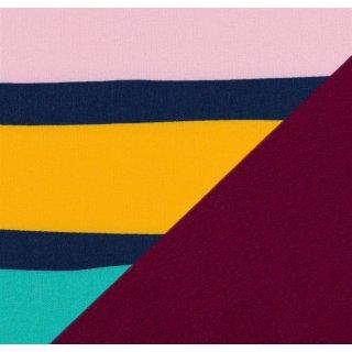 Finn Nano Softshell Streifen bunt/ dunkelblau