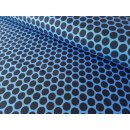 Lots of Dots Punkte, blau by Lycklig Design