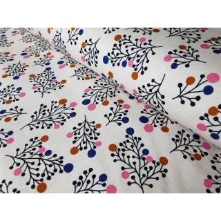 Albstoffe - Plain Stitches - Snowberry weiß