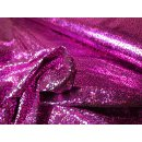 Mosaik Folienjersey pink