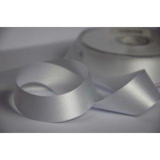 Satinband 2,5cm breite Weiß