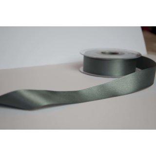 Satinband 2,5cm breite Grau