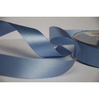 Satinband 2,5cm breite Hellblau