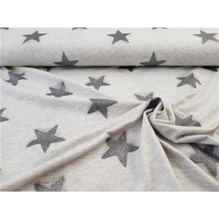 Glitter Star Grau