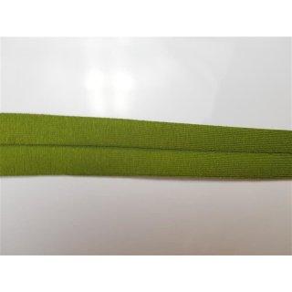 Jersey Schrägband Grün 40/20 mm elastisch